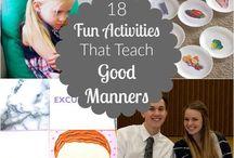 Sunday School Manners