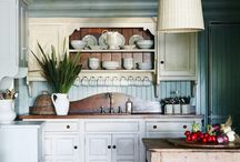 Kitchen styling / Ideas for phot shoot styling