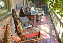 Porches, patios and decks / by Kathy Detwiler Harris