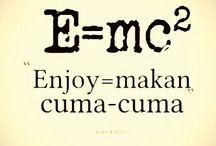 enjoy  makan cuma cuma