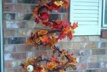 Fall-Thanksgiving Decorating
