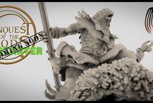 Conquest of the Gods / The Conquest of the Gods tabletop miniature wargame.