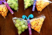 school treats and birthday party