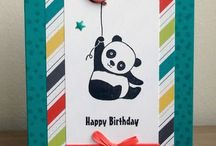 Stampin Up Party Panda