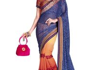 Beautiful Designer Sarees / Buy Sarees and Suits at wholesale rate, directly from surat