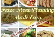 Paleo Meal Planning / by MaloucyLou