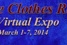 'Indie Clothes Rack' Virtual Expo / From March 1-7, 2014 experience the visual bliss of Indie Fashion Designers' creations on the Expos' Pinterest, Twitter, Facebook, Google + pages and Youtube playlist. http://IntenseHighExpos.com/ICR/