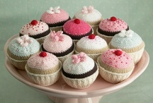 Looks tasty / Knitted and crochet cakes and treats / by Lorna Nicol