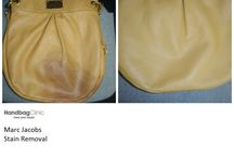 Marc Jacobs / Photos of stained, damaged, torn, dirty and worn out Marc Jacobs handbags and purses that we have lovingly cleaned and restored.