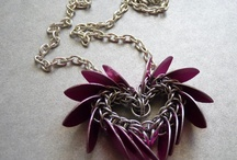 Chainmaille - heart
