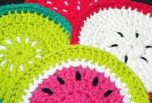 crochet coasters, washcloths and more