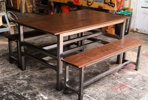 Steel and Wood Furniture