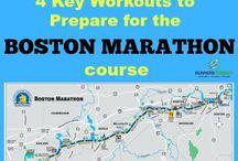Boston Marathon / Inspiration and Training Amalgamation