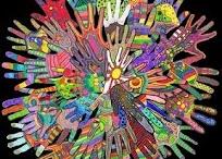 Hand unity art