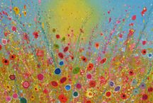 ENCHANTED: Yvonne Coomber Solo Show / We're delighted to be hosting 'Enchanted: Yvonne Coomber Solo Show' at ART5 Gallery! Following the success of Yvonne's first ever solo show in Sussex last year with us, we'll be showing an exclusive new collection of this sought-after artist's work: a beautiful mix of florals, landscapes and abstracts. Running from 18th-25th April, visit the gallery and lose yourself in Yvonne's sparkling paintings!