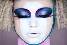 back to the future / futuristic fashion & makeup