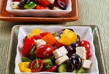 Thanksgiving supper salads
