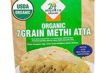 Buy Online Organic 7 Grain Methi Atta / Flour from USA
