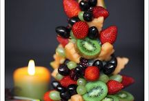 Holiday food / Edible Christmas Tree