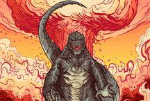 Godzilla / by Trevor Van As