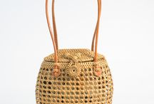 RATTAN BAGS / Everything about rattan and wicker bags