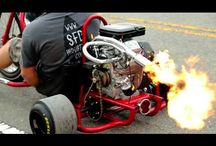 Video: flame-spitting motorised drift trikes are a Good Thing / http://www.topgear.com/car-news/modified/video-flame-spitting-motorised-drift-trikes-are-good-thing#