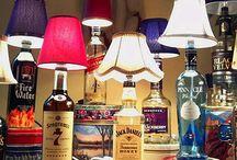 abajur de garrafas