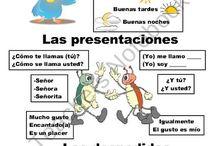 Espanol SALUDOS