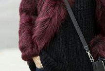 Kožušinové kabáty / FAUX FUR COATS