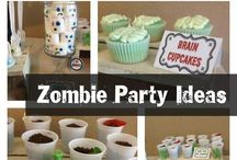 Chases zombie birthday party