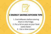 Energy Saving Tips / Tips and ideas for saving energy and being energy efficient. Your one stop resource for household energy efficiency tips.