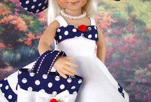 oblečky pro panenky šité