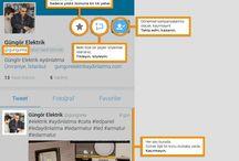 Sosyal Medya / Sosyla Medya Hesaplarımız