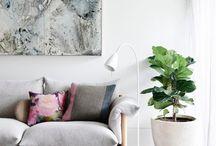 interiors | living room / by Kendra Stephenson