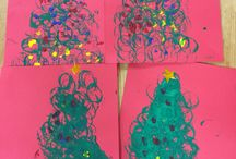 Christmas crafts for children / Super fun winter arts and craft for kids. Great christmas crafts that the children made!