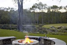 Fired Up - Great fire pits / Inspiring fire pits for outdoor living