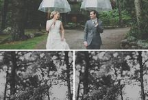 Rainy day - wedding