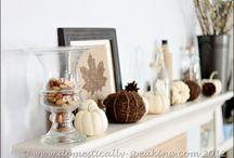 Holiday Season's Autumn Fall / by Mkmeaton Eaton