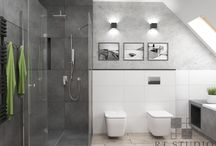 bathroom/ salle de bain / industrialni