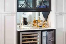 Home Bar areas and Butlers Pantries