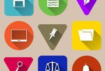 Icons free vectors