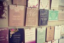 Wedding Invites / Wedding invitation designs. Vintage, Carnival, Retro and Shabby Chic themes!