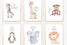 Printable art - Nursery