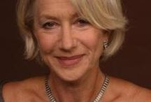 Confident looking women with Gray Hair / Alex this is my inspiration board. Peggy James