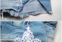 Refashion jeans / by rudneva olga