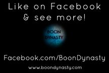 NETWORK / Connect with Boon Dynasty all over the web!