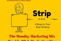 Monday Marketing Mix for Writers