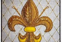 Patterns: Fleur de Lis - Minták: Anjou-liliom