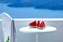 Delicious Santorini / Delicious dishes, local ingredients, traditional Greek recipes and modern touches. Snapshots of the yummie food you will find on Santorini island. / by Santorini Weddings