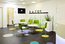 Clinic interior design / Interior architect in Copenhagen creating clinic designs. For references www.abita.dk